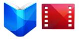 google play livro e filme